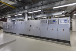 Control cabinets of North-East Cooling Control Centre, Hall 13