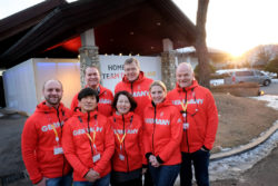 Team MD at ´Deutsches Haus´ in PyeongChang