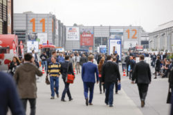 Guests of the trade fair
